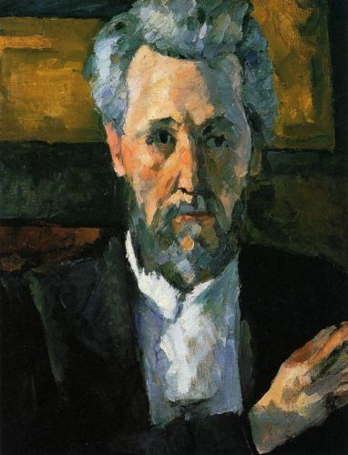Portrait of Victor Chocquet, 1877 by Paul Cézanne