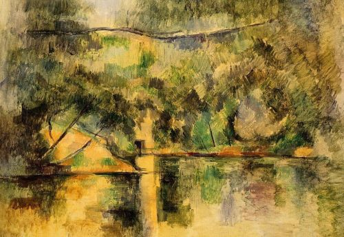 Reflections in the Water, 1888-1890 by Paul Cézanne