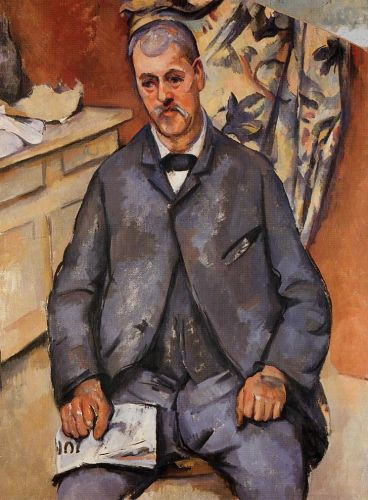 Seated Man, 1898-1900 by Paul Cézanne