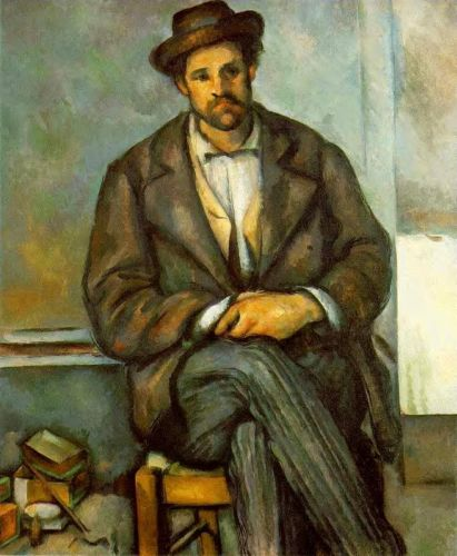 Seated Peasant, 1892-1896 by Paul Cézanne
