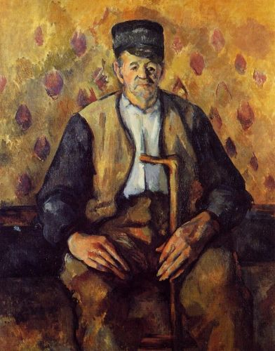 Seated Peasant, 1900-1904 by Paul Cézanne