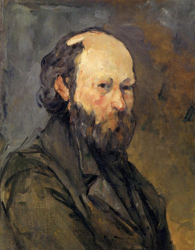 Self Portrait, 1877 by Paul Cézanne