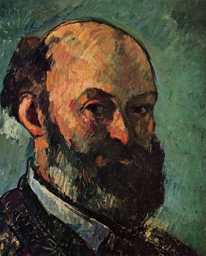 Self Portrait, 1879-1880 by Paul Cézanne