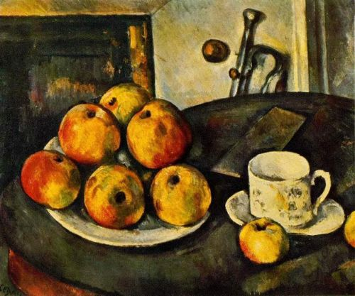 Still Life with Apples, 1890-1894 by Paul Cézanne
