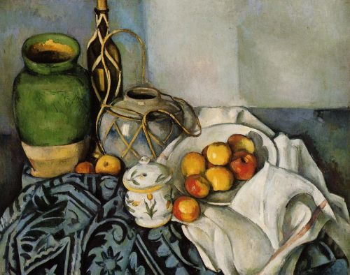 Still Life with Apples, 1893-1894 by Paul Cézanne