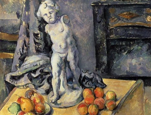 Still Life with Plaster Cupid, 1894-1895 by Paul Cézanne