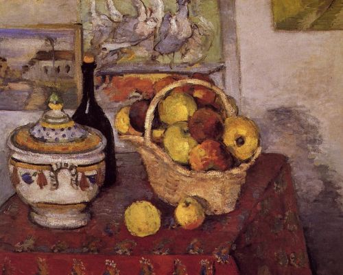 Still Life with Soup Tureen, 1873-1874 by Paul Cézanne