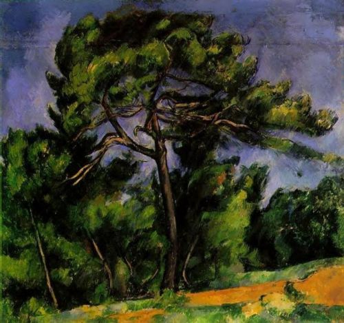 The Great Pine, 1892-1896 by Paul Cézanne