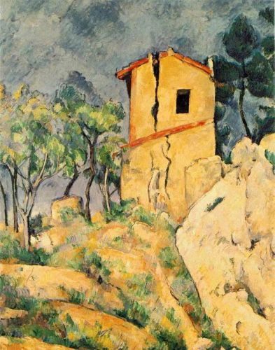 The House with Cracked Walls, 1892-1894 by Paul Cézanne