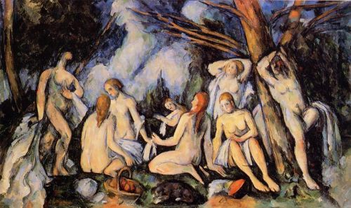 The Large Bathers, 1900-1905 by Paul Cézanne