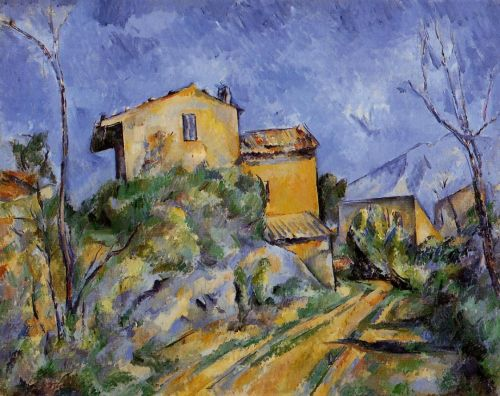 The Maison Maria, 1895 by Paul Cézanne