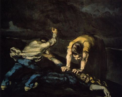 The Murder, 1868 by Paul Cézanne