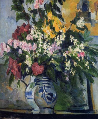 Two Vases of Flowers, 1877 by Paul Cézanne