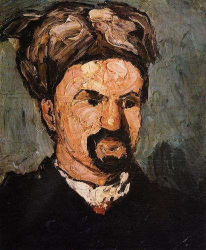 Uncle Dominique in a Turban, 1866 by Paul Cézanne
