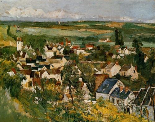 View of Auvers-sur-Oise (Auvers, Panoramic View), 1873 by Paul Cézanne