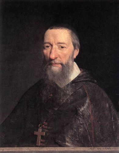 Portrait of Bishop Jean-Pierre Camus by Philippe de Champaigne