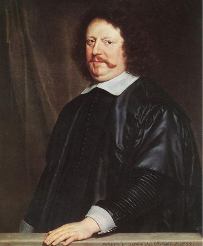 Portrait of Henri Groulart by Philippe de Champaigne