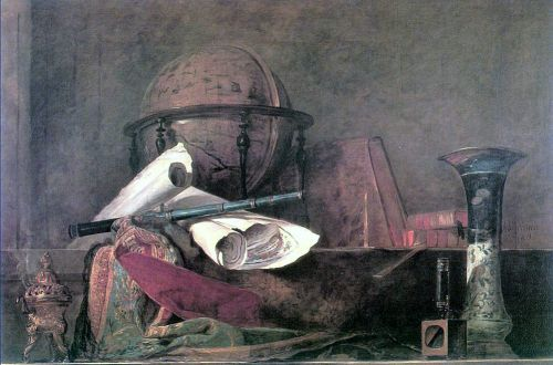 Attributes of the Sciences by Jean-Baptiste Simèon Chardin