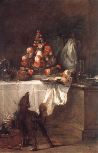 The Buffet by Jean-Baptiste Simèon Chardin