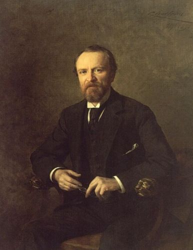 Portrait of Henry Phipps by Theobald Chartran