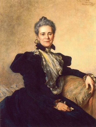 Portrait of Mrs Charles Lockhart by Theobald Chartran