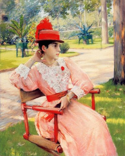 Afternoon in the Park by William Merritt Chase