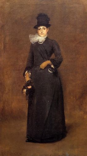 Beatrice Clough Bachmann by William Merritt Chase