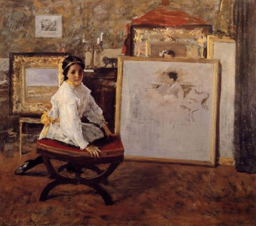 Did You Speak to Me by William Merritt Chase