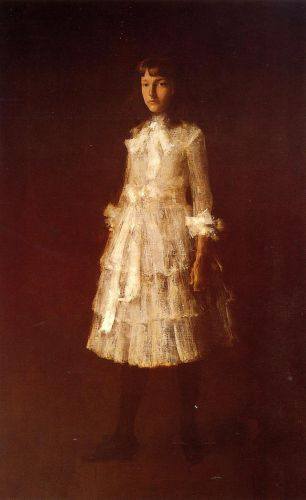 Hattie by William Merritt Chase