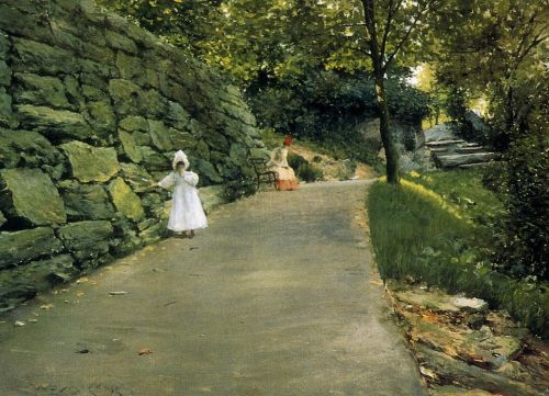 In the Park by William Merritt Chase