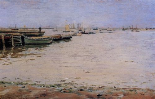 Misty Day, Gowanus Bay by William Merritt Chase