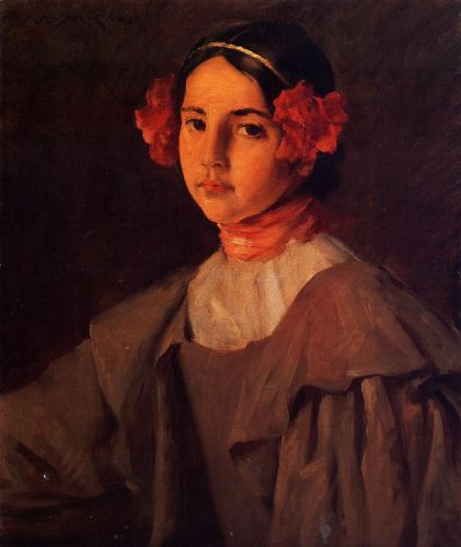 My Daughter Alice by William Merritt Chase