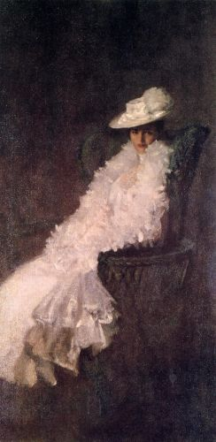 My Daughter Dieudonnee by William Merritt Chase