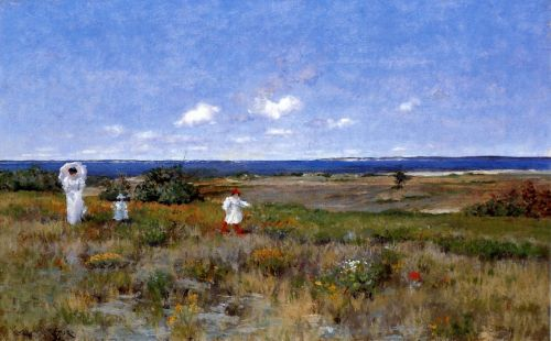 Near the Beach, Shinnecock by William Merritt Chase