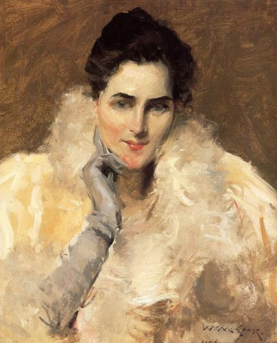 Portrait of a Lady by William Merritt Chase