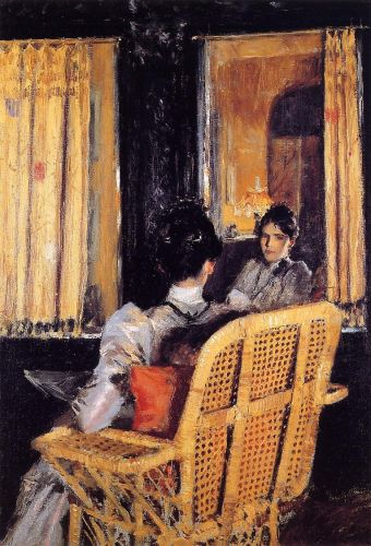 Reflection by William Merritt Chase