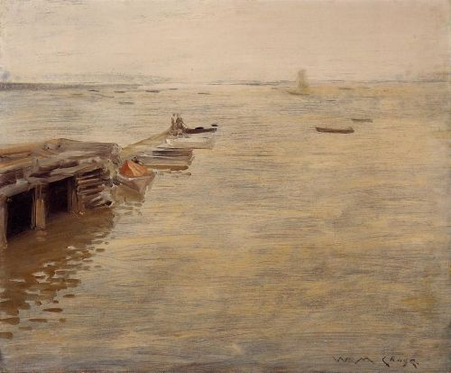 Seashore by William Merritt Chase
