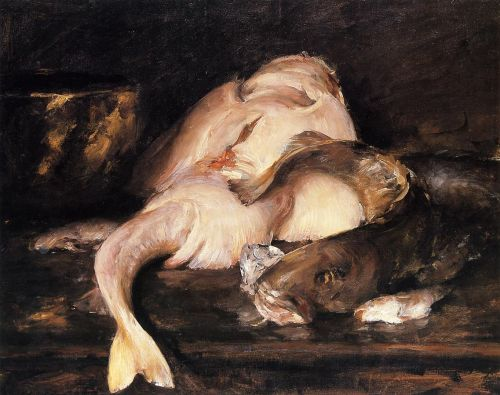 Still Life, Fish by William Merritt Chase
