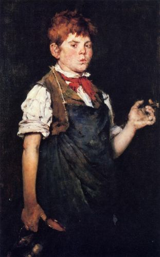 The Apprentice by William Merritt Chase