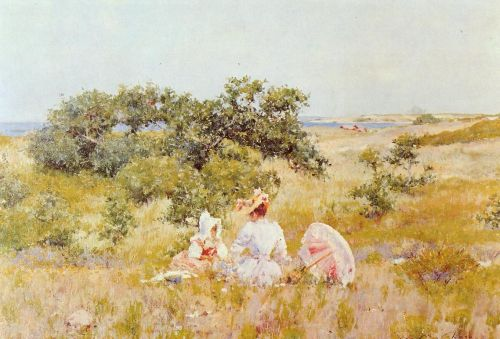 The Fairy Tale by William Merritt Chase