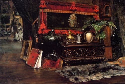 The Inner Studio, Tenth Street by William Merritt Chase