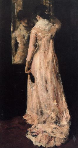 The Mirror by William Merritt Chase