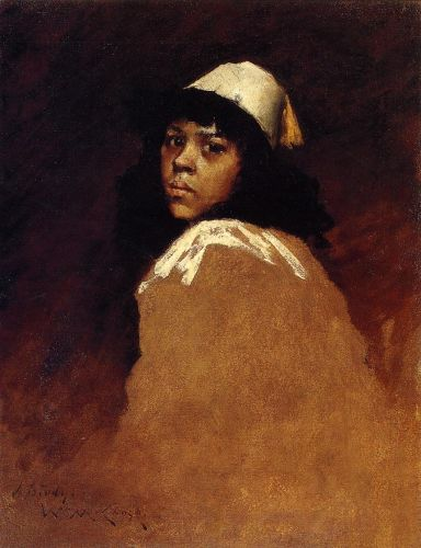 The Moroccan Girl by William Merritt Chase