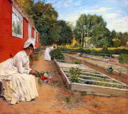 The Nursery by William Merritt Chase