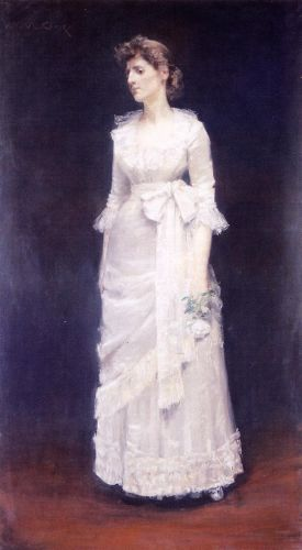 The White Rose by William Merritt Chase