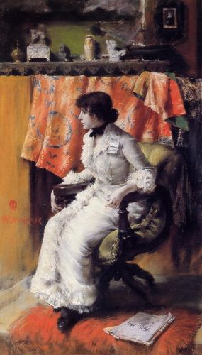 Virginia Gerson by William Merritt Chase