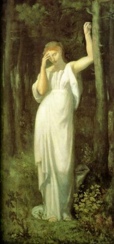 The Meditation by Pierre Puvis de Chavannes