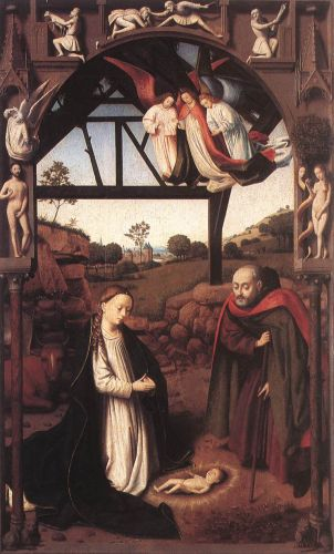 Nativity by Petrus Christus