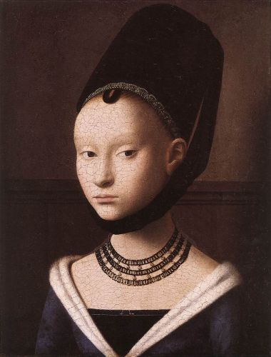 Portrait of a Young Girl by Petrus Christus