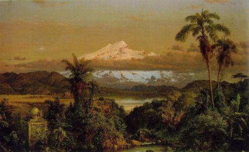 Cayambe by Frederic Edwin Church